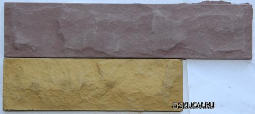 Цокольная и фасадная плитка Колотый камень